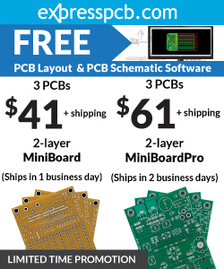 Free PCB Layout & PCB Schematic Software